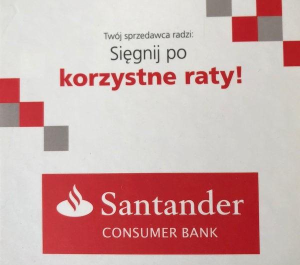 Zdolność kredytowa w Santander Consumer Bank Gorzów